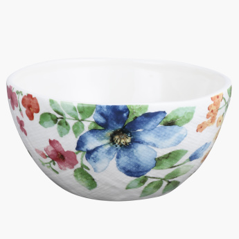 Floral Printed Cereal Bowl