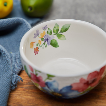 Floral Printed Rice Bowl