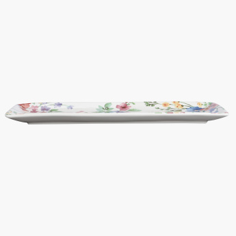 Spring Flower Rectangle Platter
