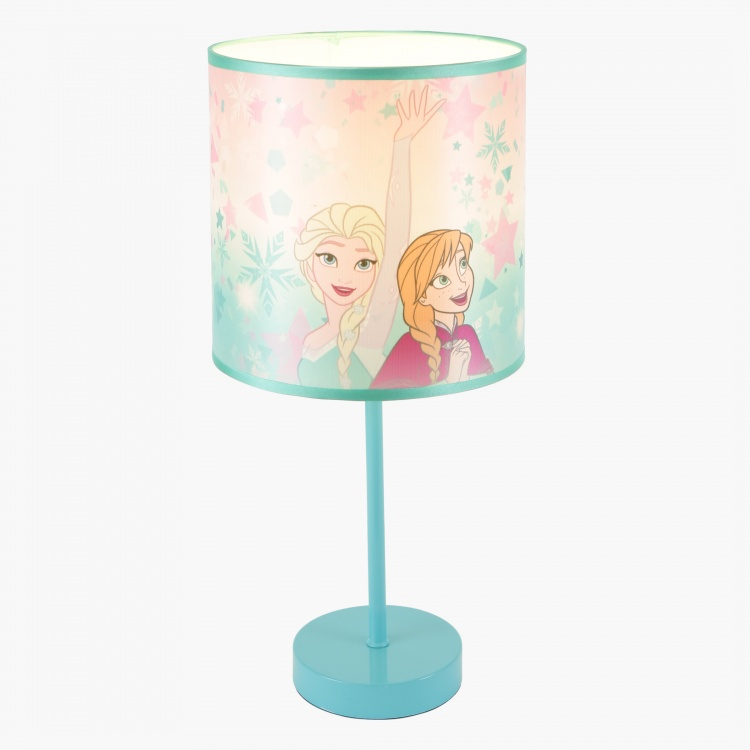 Frozen Printed Table Lamp