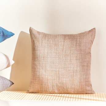 Eterno Textured Filled Cushion - 45x45 cms