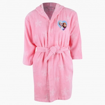 Frozen Printed Bathrobe