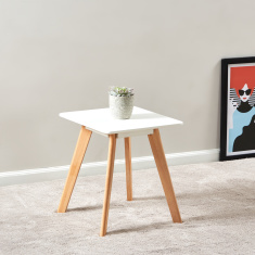 Meadow Wooden End Table
