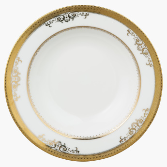 Royal Majestic Printed Soup Plate