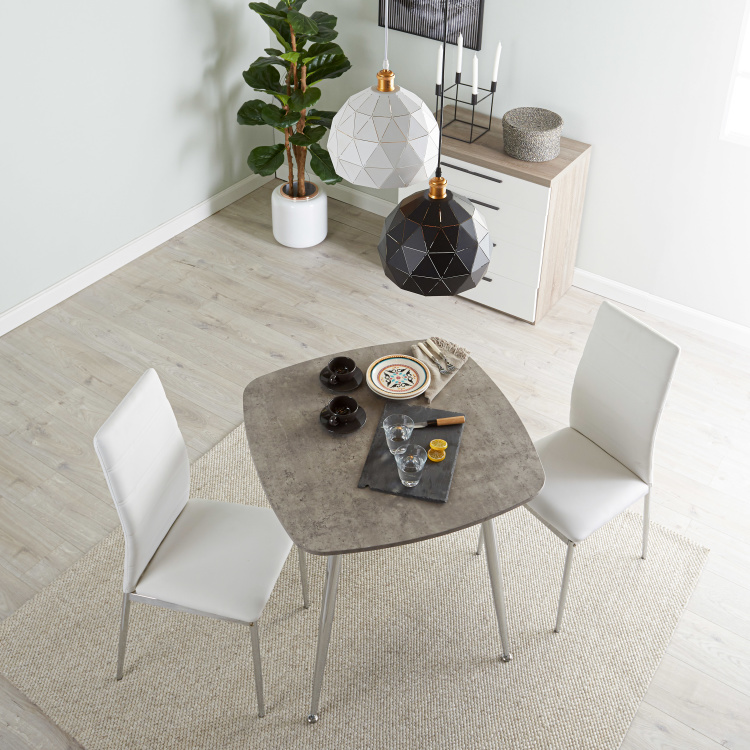 Warden 2-Seater Dining Table Set