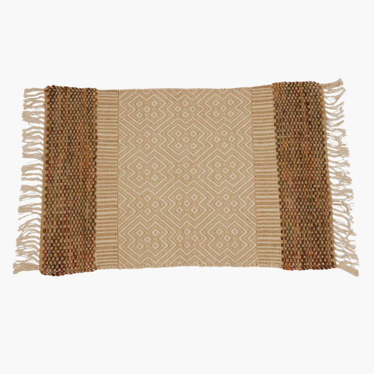 Colorband Handwoven Dhurrie - 60x90 cms