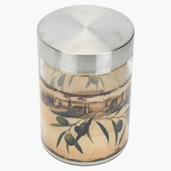 Olio Storage Jar with Lid