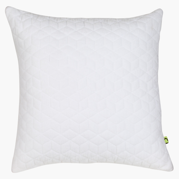 Diamond Quilted Cushion Cover - 45x45 cms