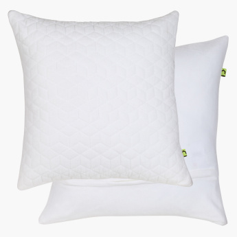Diamond Quilted Cushion Cover - 65x65 cms
