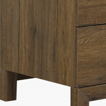 Sleek 6-Drawer Dressing Table