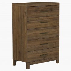 Sleek Chest of 5-Drawers