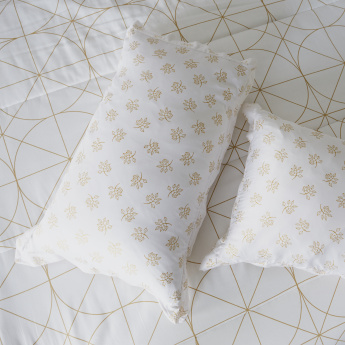 Nazma Printed Oxford Pillow Cover - Set of 2