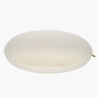 Memory Foam Round Filled Cushion