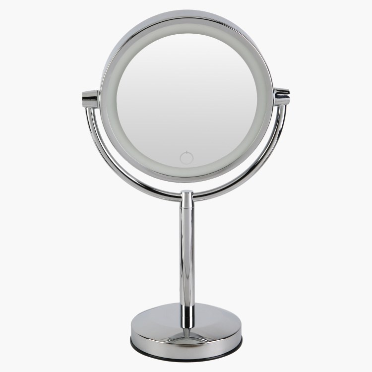 LED Double Sided Table Mirror