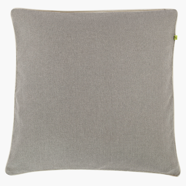 Chemsford Textured Cushion Cover - 65x65 cms
