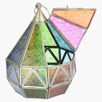 Clichy Textured Conical Lantern