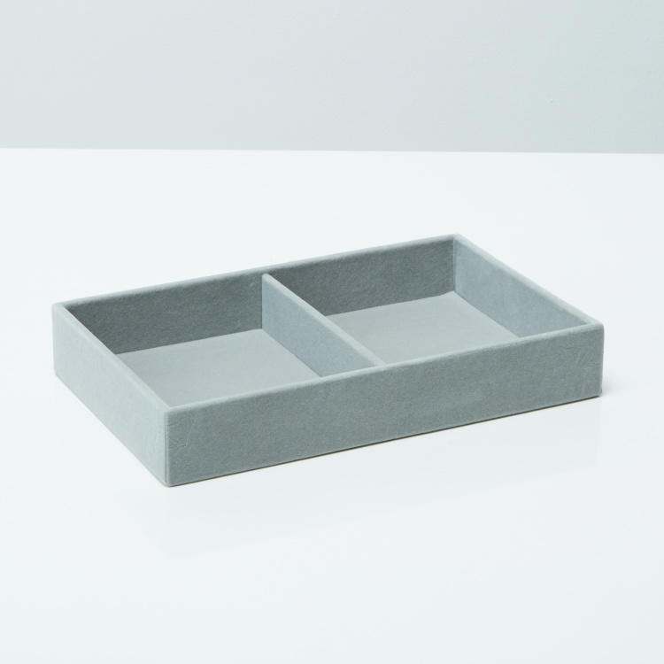 Flosci 2-Compartment Jewellery Tray