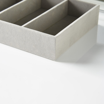 Flosci  4-Compartment Jewellery Tray