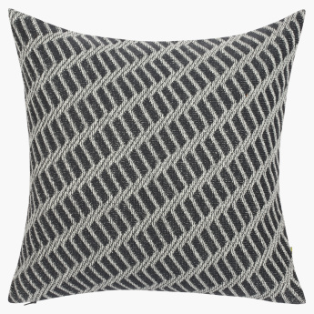 Hatra Textured Cushion Cover - 45x45 cms