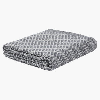 Hatra Textured Throw - 150x200 cms
