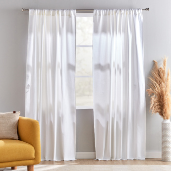 Bird Eye Printed 2-Piece Curtain Pair - 140x240 cms