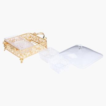 Andalucia 6-Piece Square Snack Box Set