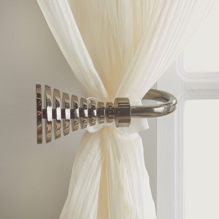 Matrix Metallic Curtain Tieback - Set of 2