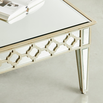 New Casablanca Coffee Table with Mirror Top