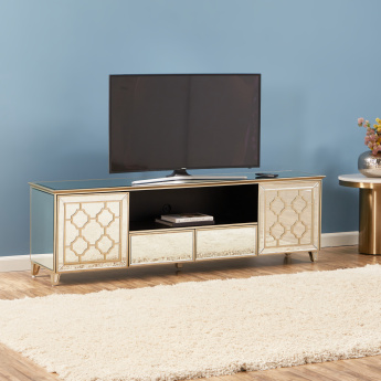New Casablanca 2-Drawer TV Unit with 2-Doors for TVs up to 65 inches