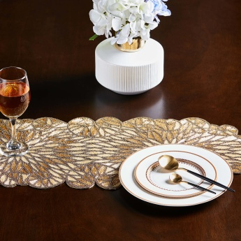 Dazzle Beaded Table Runner