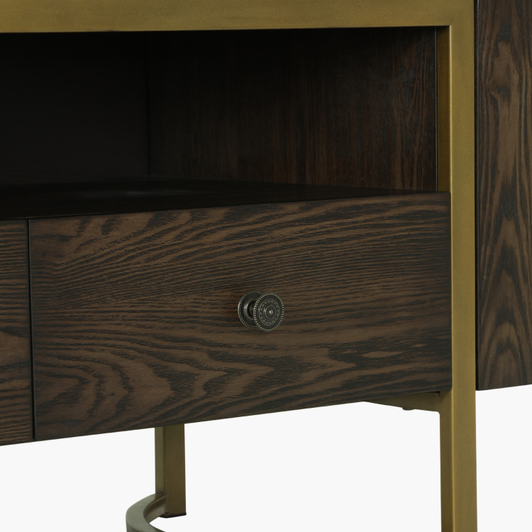 Palampore 2-Drawer TV Unit with 2-Doors
