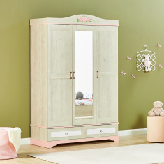 Evelyn 3-Door Wardrobe with 2-Drawers