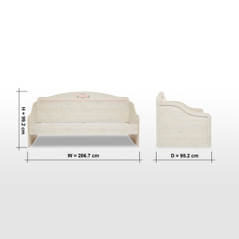 Evelyn Single Daybed - 90x200 cms