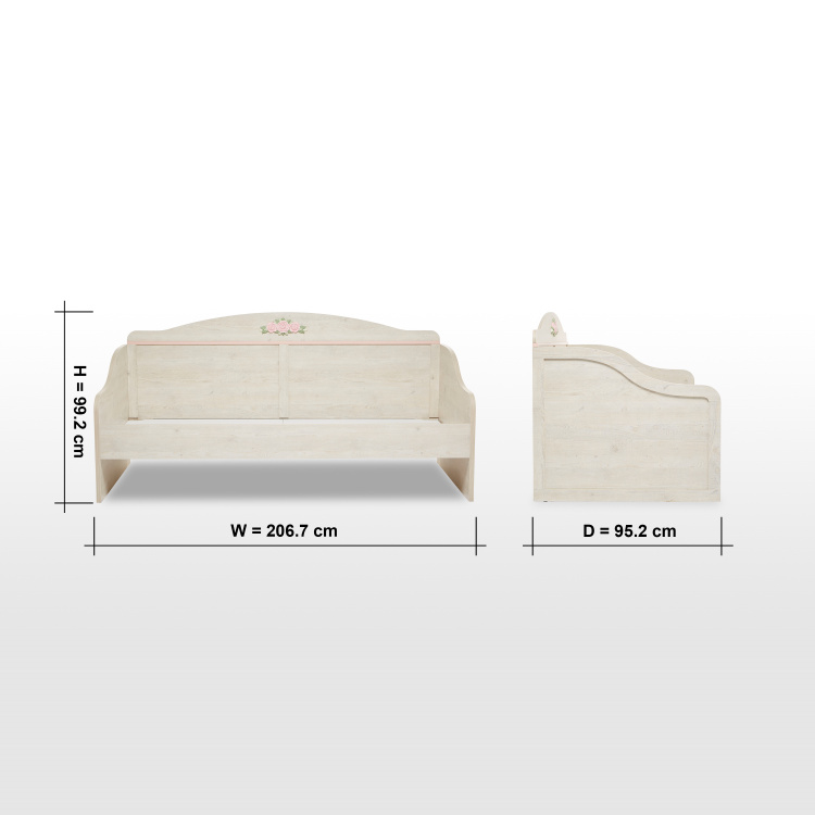 Evelyn Single Daybed - 90x200 cm