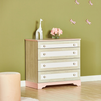 Evelyn 4-Drawer Dresser