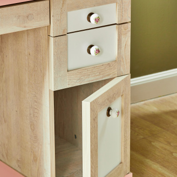 Evelyn 2-Door Study Desk with 3-Drawers
