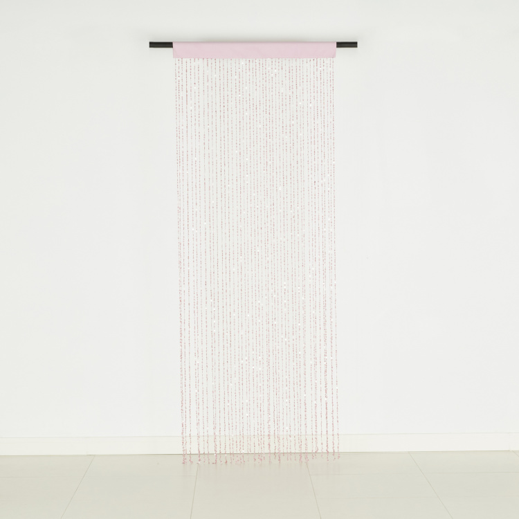 Juliana Square Sequins String Curtain - 90x240 cms