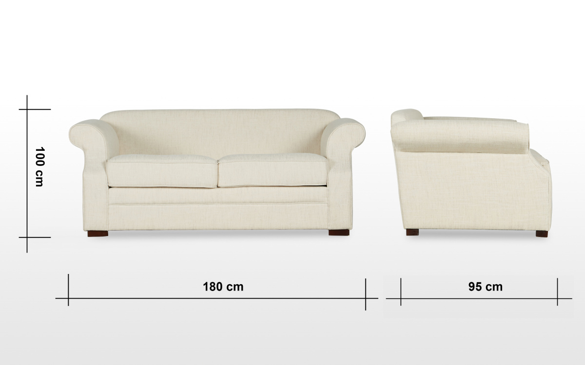 Botanical 2-seater Fabric Sofa