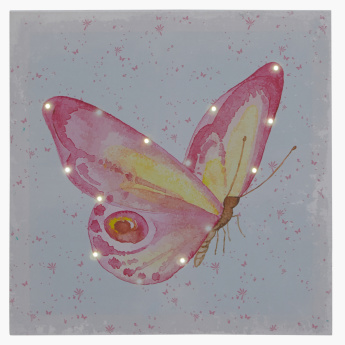 Bethany LED Butterfly Painting