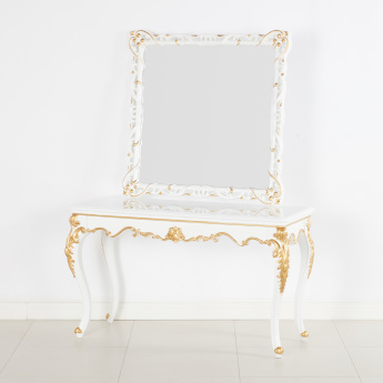 Bianca Console Table with Mirror