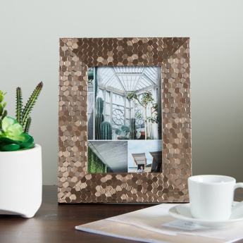 Tessera Moulded Photo Frame - 5x7 in