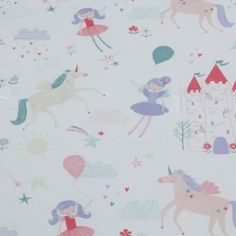 Cindy's Fairies Printed 2-Piece Full Comforter Set - 160x240 cms