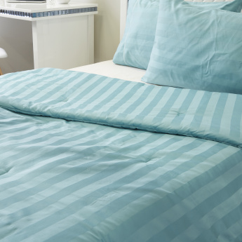 Satin Stripe 3-Piece Comforter Set