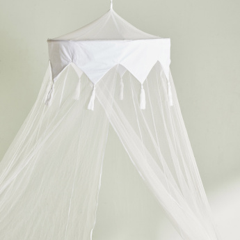 Candi's Cylindrical Bed Canopy - 50x200 cms