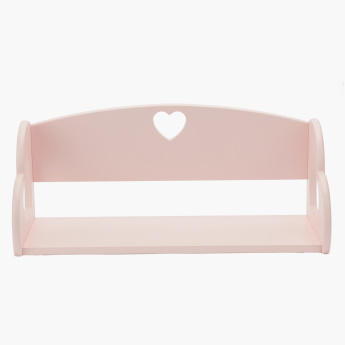 Zinzi Rectangular Cutout Heart Shelf