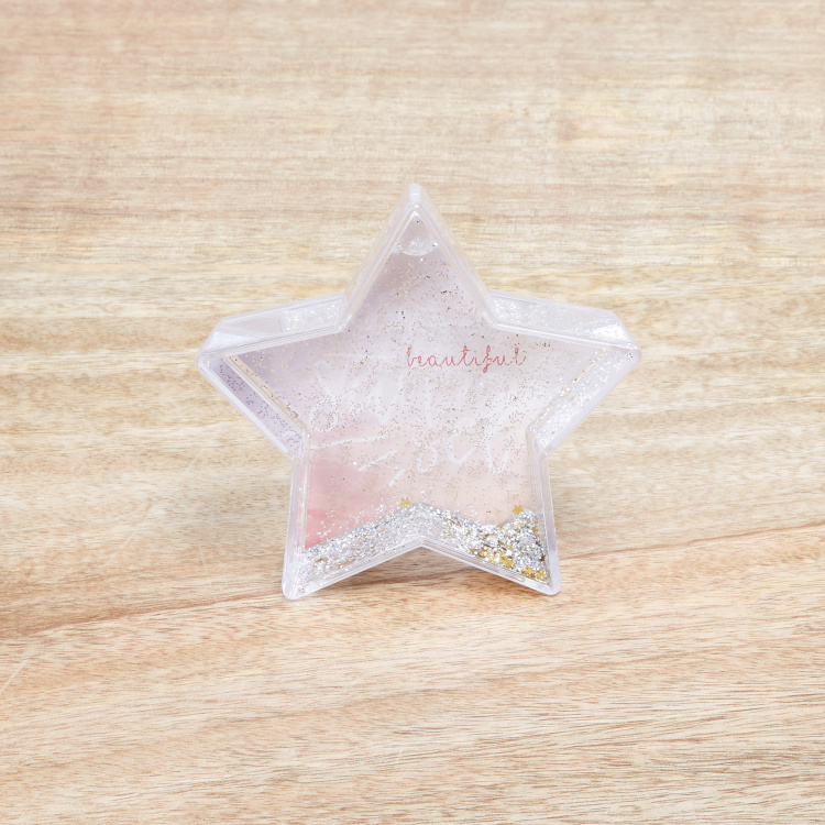 Starlette's Sparkly Star Shaped Picture Frame