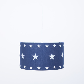 Steven's Star Printed Ceiling Lamp