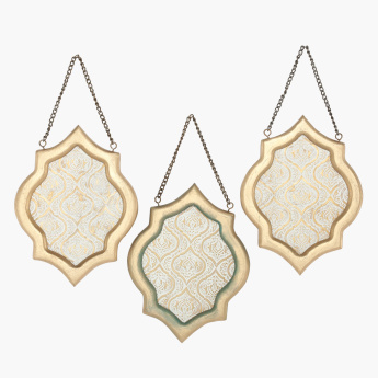 Embossed Wall Decor - Set of 3