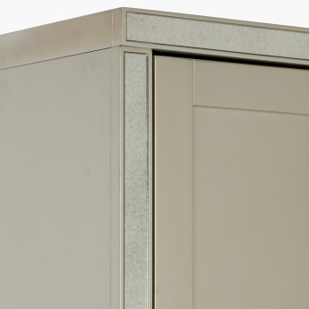 Mono Suzani 6-Door Wardrobe with Adjustable Shelves
