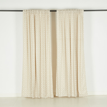 Niblis Curtain Pair - 135x240 cms